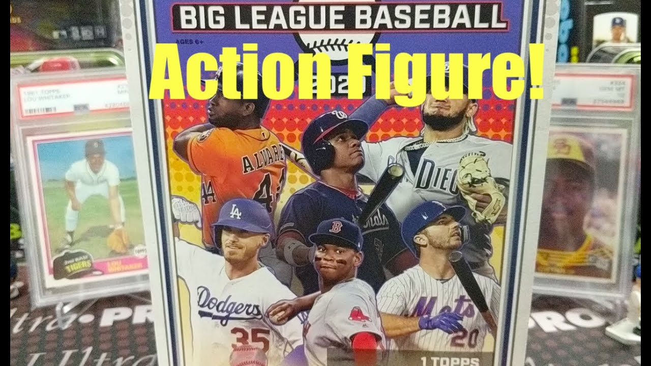 2020 Topps Big League Collectors Box 1 Action Figure & 5 Hobby Packs ** A New Product from Topps **