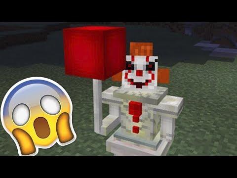 Клоун в Майнкрафт