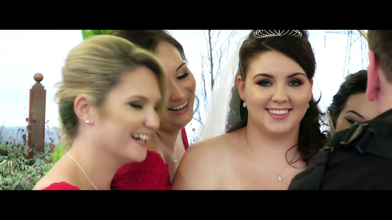 claire and andrew wedding highlights ingliston country