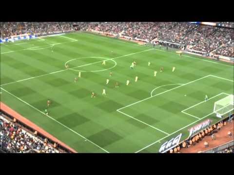 La prima volta al Camp Nou  Live cam on Barcelona - Levante 4-1
