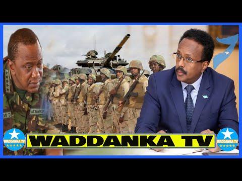 DEG DEG Ciidanka GorGor Oo Ceersadey Kenyan Xuduuda Soodhaafay, Somalia Oo Hantisay Dacwadii Badda
