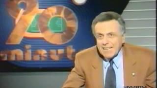 Calcio 90° minuto storica trasmissione di raiuno puntata dell' 11 marzo 1990, conduttore paolo valenti - tutti i gol e le azioni salienti della 28° giornata ...