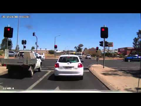 Video 278-Stuart Highway - Driving around Alice Springs, ending at Stuart Caravan Park
