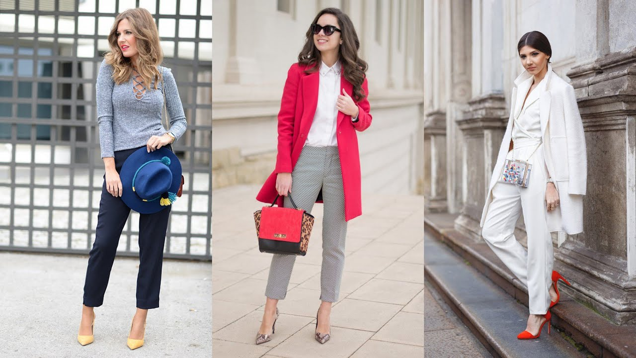 6831bbf4f10 Stylish Winter Office Outfits - YouTube