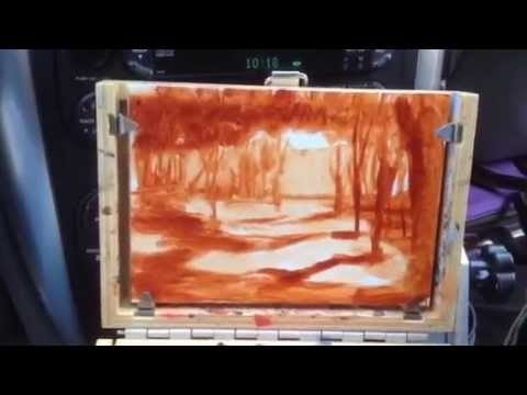 Oil Painting Demo Paint N Outdoors Plein Air With Mark Color Temperature