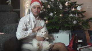 Suleyman sjunger Tänd ett ljus med sin katt