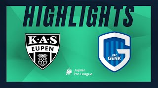 KAS Eupen – KRC Genk moments forts