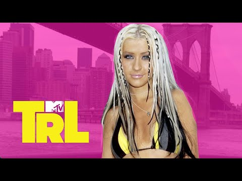 Christina Aguilera Stripped In New York City With Carson Daly (2002)