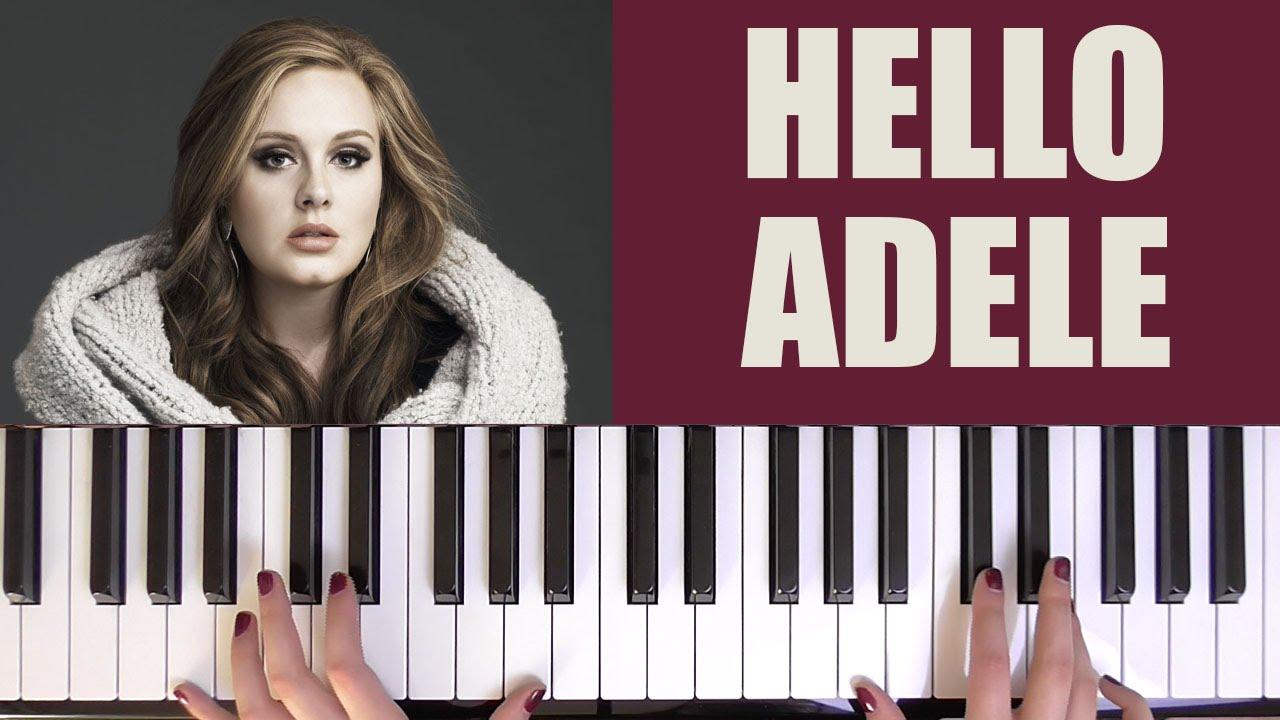 HOW TO PLAY: HELLO - ADELE - YouTube - photo#40