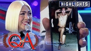 Vice gets shocked after Vhong showed his throwback photo   It's Showtime Mr. Q and A