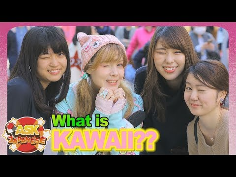 WHAT is NOT KAWAII in JAPAN? Ask Japanese girls and boys what is not cute in their opinion