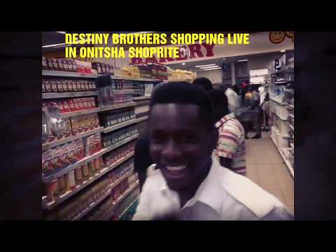 Destinybrothers shopping live in anambra state