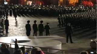 Москва, Парад Победы (репетиция 03.05.2012)