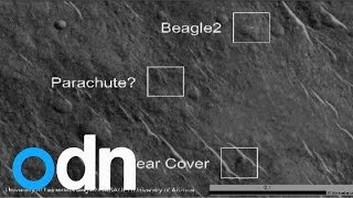 Photos Show Missing Beagle 2 Spacecraft Located On Surface Of Mars