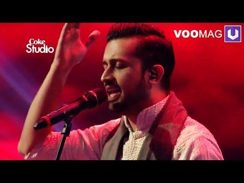 Tajdar e haram Karaoke   Atif Aslam Coke Studio 8