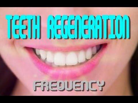 Teeth Regeneration Frequency-Chromosome Binaural Beat