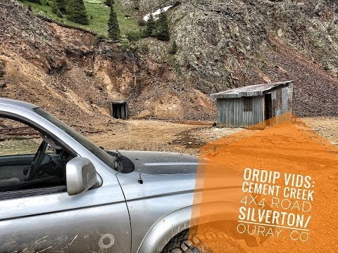 ORDIP Vids: Cement Creek 4x4 Trail  Ouray, Co