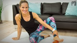 Faszientraining Beine intensiv mit Corinna Frey
