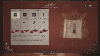 Resident Evil Village Crafting Blueprints, Recipes for Shotgun Ammo, Sniper Rifle Ammo, and Mines