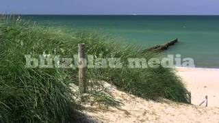 Stock Footage Europe Germany Baltic Sea Beach Ahrenshoop Darss Ostsee Mecklenburg Strand Vacation