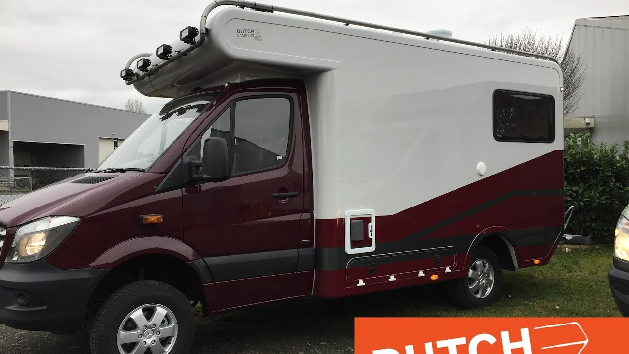 Dutch Campers DC280 Mercedes Sprinter 4X4 2016 model ...