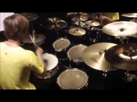 千本桜 Senbonzakura 千本櫻 叩いてみた Drum Cover [Drum Fly]