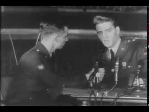Elvis, an Ambassador, Go Karts, Boxing and More in US Army Newsreel