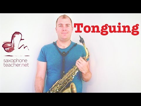 Saxophone Mouthpiece Exercise | Tonguing | Articulation