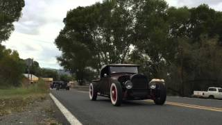 Hot Rod Cruise through Skull Valley, AZ 2015