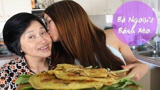 Banh Xeo with my Ba Ngoai (Traditional Vietnamese Pancake)