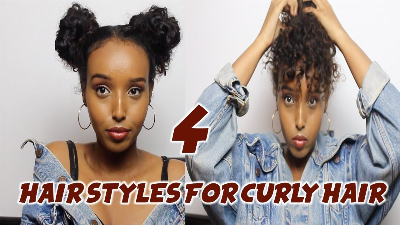4 Easy Fall Winter Hairstyles For Curly Hair