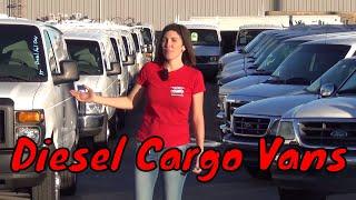 2008 Ford E350 Cargo Van Extended 6.0L Turbo Diesel - A85636 - SEEWHATSIN.COM  CARGO VANS