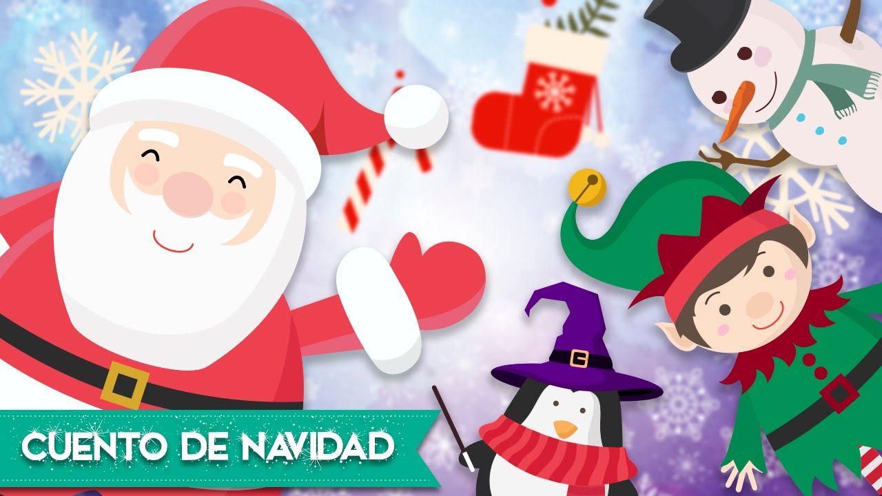 Papa Noel Salva La Navidad Cuentos Infantiles De Navidad Youtube - Imagenes-infantiles-de-navidad