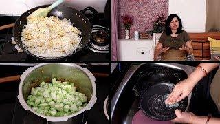 Ye Akhiri baar hai mere channel pe | AFTERNOON TO NIGHT ROUTINE | Indian Simple Dinner Routine |VLOG