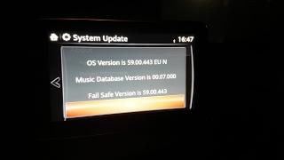 Установка прошивки 59.00.443 EU на Mazda 3 BM + удаление/установка твиков