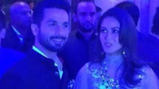 Shahid Kapoor Wedding Reception - Dance On Various Bollywood Songs