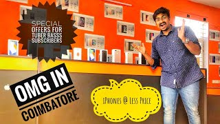 OMG | IPhones and Oneplus @ Less Price In Coimbatore | Tamil Vlogs