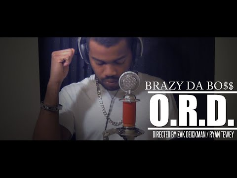 "Brazy Da Bo$$ - ""O.R.D."" (Obsessive Rhyming Disorder) (Official Video)"
