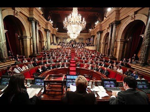 Directo: La constitución del nuevo Parlament de Catalunya