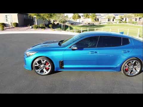 2019 Kia Stinger GT1 - BlueBeri