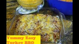 Easy Turkey Bbq Meatloaf | Cooking Video Tutorial