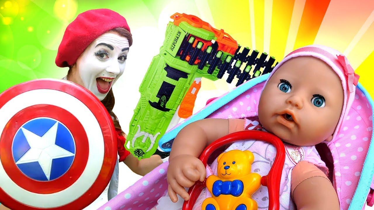 Детское видео про игрушки для малышей. Кукла Беби Бон и ...