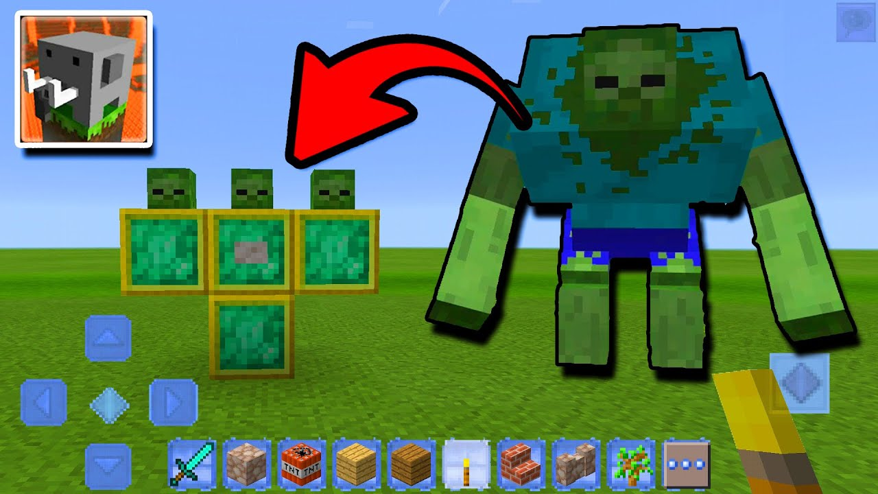 How to SPAWN MUTANT ZOMBIE in Craftsman: Building Craft
