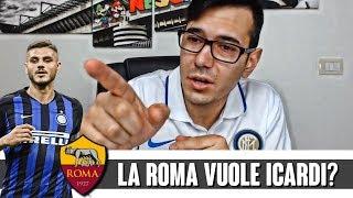 LA ROMA VUOLE ICARDI    La reazione del tifoso interista