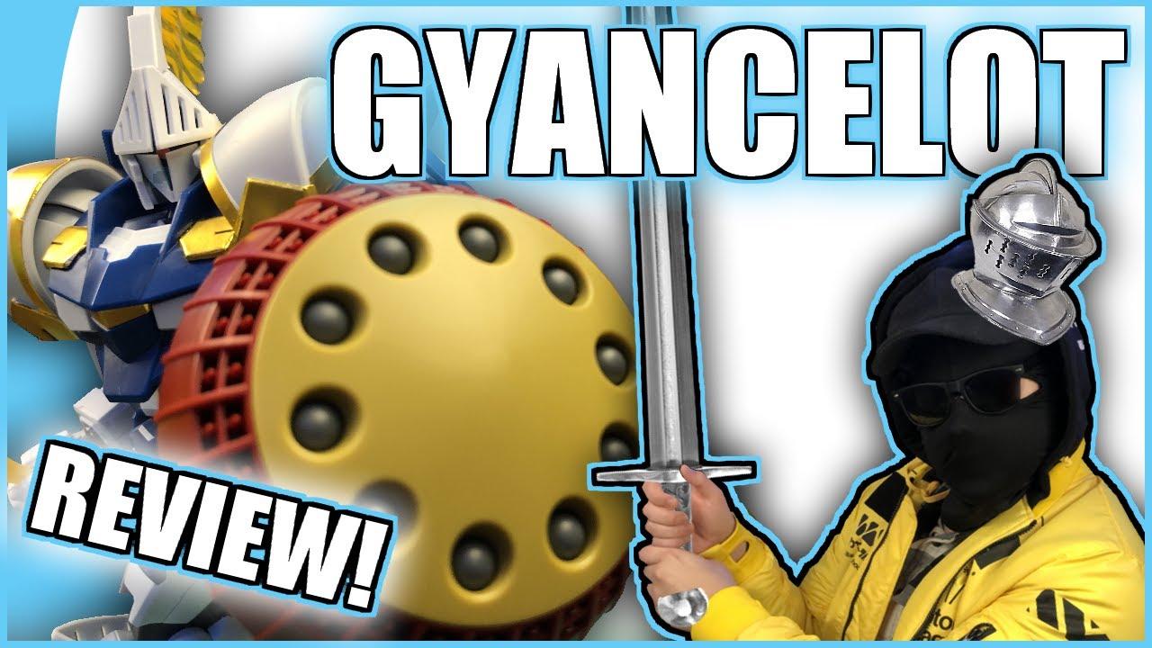A Knight In (Sticker Covered) Armor!   HGBF Gyancelot Gunpla REVIEW