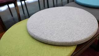 퐁퐁이 거실 식탁 카페 원형 인테리어 방석