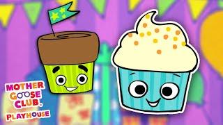 Cupcake Finger Family + More | Mother Goose Club Nursery Rhyme Cartoons