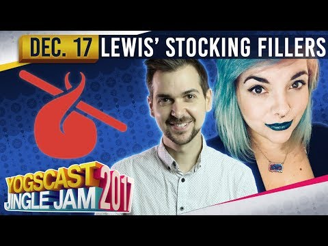 LEWIS' STOCKING FILLERS w/ RADDERSS - Humble Bundle! - YOGSCAST JINGLE JAM - 17th December 2017