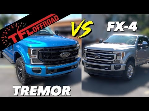 2020 Ford F-250 Tremor vs FX4: Here Are The Top 5 Upgrades That Make the Tremor More Off-Road Ready!