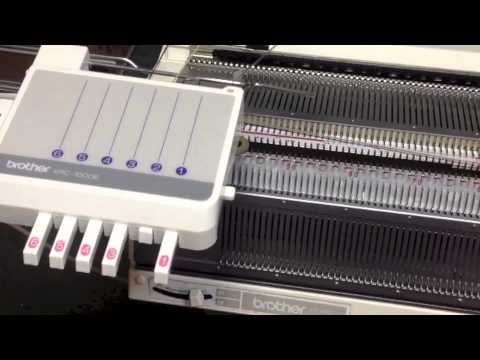 Automatic knitting system based on the Brother KH-970